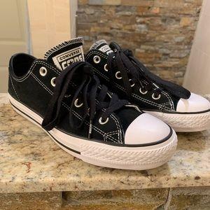 Black Suede Converse Cons